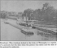 Wetumpka lock on Coosa river